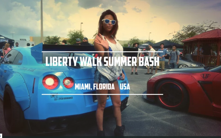 LIBERTY WALK SUMMER BASH - Miami, Florida USA